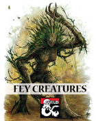 Fey Creatures: Nymphs, Pixies, and the Jabberwocky