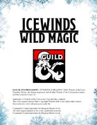 Wild Magic Surge Table - Icewinds