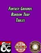 Random Trap Tables