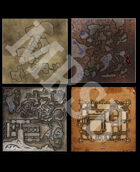 DMs Guild Creator Resource - Free Dungeon Maps / Map Pack 1