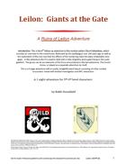 Leilon: Giants at the Gate