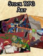 Stock Art - Four Full Color Landscape Images
