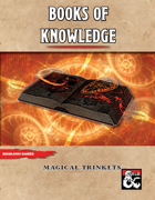 Books of Knowledge - Magical Trinkets