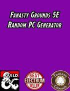 Fantasy Grounds Random PC Generator