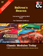 Classic Modules Today: I7 Baltron's Beacon (5e)