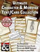 Ultimate Character and Monster Tent Collection