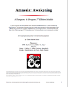 Amnesia: Awakening