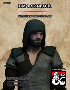 ART077 Male Human Druid