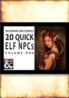20 Quick Elf NPCs