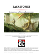 Backstories - New and Improved Backgrounds