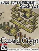 Cursed Crypt - Stock Art