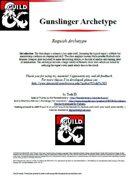 Gunslinger Roguish Archetype