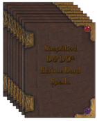 Simplified 5e Spellbook Bundle