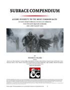 Subrace Compendium