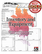 5e Inventory and Equipment: Revisited