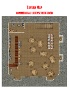 Two Story Tavern Map