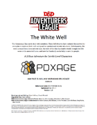 CCC-PDXAGE-01-01 The White Well