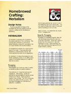 Homebrewed Crafting - Herbalism