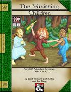 99 Cent Adventures - The Vanishing Children - Addon Adventure