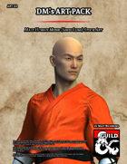 ART111 Male Human Monk (Shou Lung)