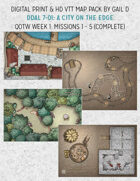 DDAL 7-01: Maps - A City on the Edge: Missions 1 - 5