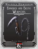 {WH} Expanded and Exotic Weapons, featuring boot daggers, spiked chains, and more!