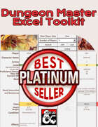 Dungeon Master Excel Toolkit