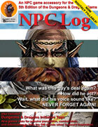 NPC Log and Initiative Tags for Dungeons & Dragons 5e
