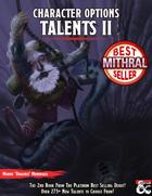 Character Options: Talents II (5e)