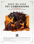 Step-by-Step Pet Companions