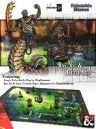 Ras Nsi Paper Miniature & Jungle Battle Map