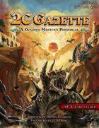 The 2CGazette - Issue 001 - Poltergeist Panic