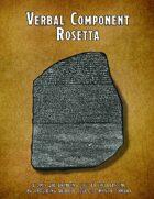 Verbal Component Rosetta