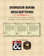 Dungeon Room Descriptions (FG)