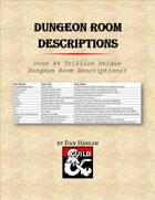 Dungeon Room Descriptions (PDF/XLSX)