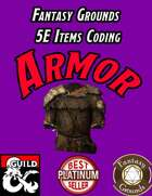 Fantasy Grounds 5E Items Effects Coding - Armor