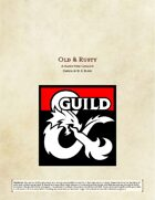 Old & Rusty - A Magic Item Catalog