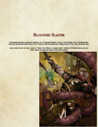 [5e] The Blooded Slayer Class