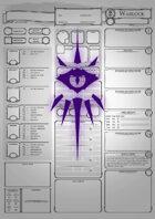 Class Character Sheets - The Warlock