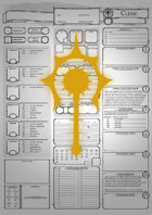 Class Character Sheets - The Cleric