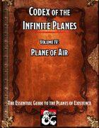 Codex of the Infinite Planes Vol 04 Plane of Air