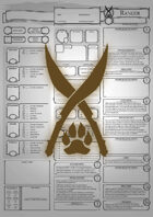 Class Character Sheets - The Ranger