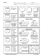 5e New Player Friendly Basic Character Sheet
