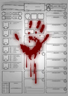 Class Character Sheets - The Blood Hunter