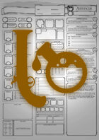 Class Character Sheets - The Artificer