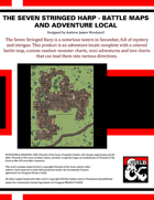 SKT04: Storm King's Thunder: The Seven Stringed Harp - Adventure Locale and Battle Maps