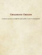 Childhood Origins