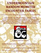 RU06: Undermountain Random Encounter Tables & Rumors