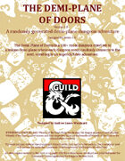 The Demiplane of Doors