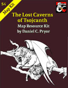 DM Notes & Maps for The Lost Caverns of Tsojcanth Maps